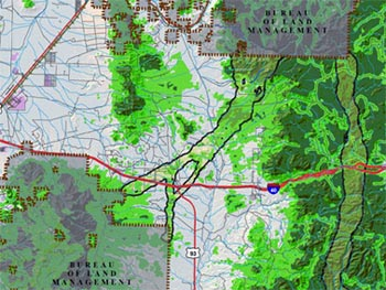 GIS Tools and Information for Designing Wildlife Corridors